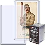 25 Pack Of Tobacco Card Toploaders By BCW
