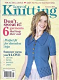 img - for Love of Knitting Magazine (Summer 2016 - 6 garments that keep their cool) book / textbook / text book