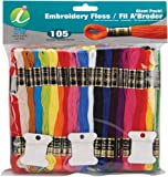 Iris 105-Pack Embroidery Giant Floss Pack, 8m