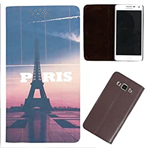 DooDa - For Samsung Galaxy Y PU Leather Designer Fashionable Fancy Flip Case Cover Pouch With Smooth Inner Velvet