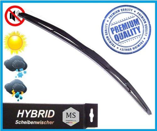1 x Premium HYBRID Scheibenwischer / 400mm / Heck - Heckscheibenwischer / Wischerblätter AERO / Opel - Corsa - B 73,78,79 (03/93-09/00) Premium Qualität