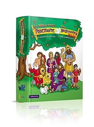 Biblia para Principiantes: Historias Bíblicas para niños  bilingüe español e inglés