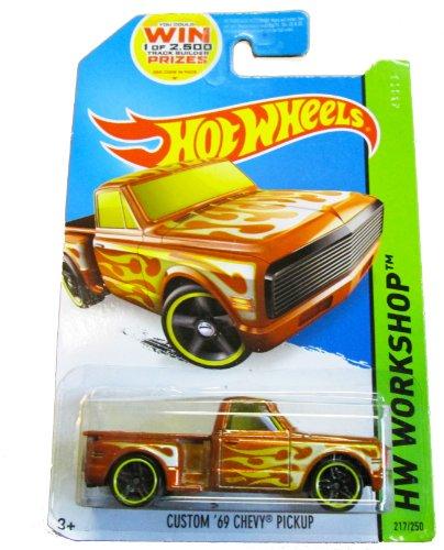 Hot Wheels - HW Workshop 217/250 - Heat Fleet Custom '69 Chevy Pickup - 1