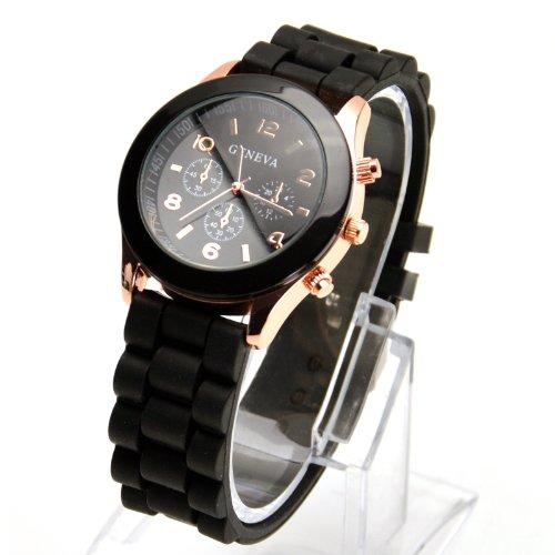 gold-trim-quartz-rubber-silicone-wrist-watch-for-unisex-men-womens-black-christmas-xmas-birthday-pre