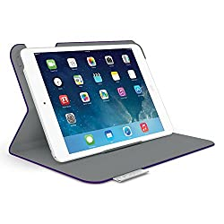 Logitech Folio Protective Case for iPad mini - Matte Purple