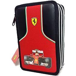 Astuccio 3 Zip Ferrari Kids