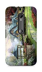 Amez designer printed 3d premium high quality back case cover for Motorola Moto G3 (Sweet Home)
