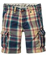 Scotch Shrunk Jungen Short 13410381508 - light weight poplin cargo shorts