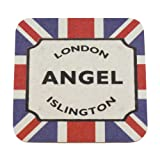 London Street Sign Souvenir Coaster - Angel Islington