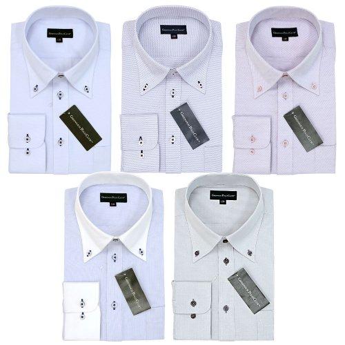 (グリニッジ ポロ クラブ) GREENWICH POLO CLUB ビジネスワイシャツ 形態安定 スタイリッシュ5枚セット(M39-82)