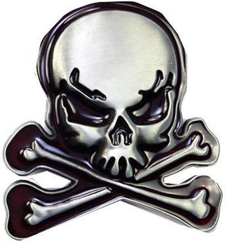Cool Skull And Cross Bones Belt Buckle