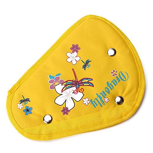 Yellow Nylon Car Safety Belt Positioner Seat Belt Adjuster For Children front-390091