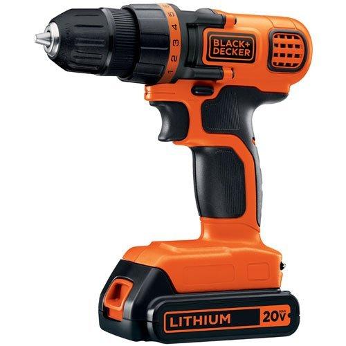 블랙앤데커 LDX120C 20V 무선 드릴·드라이버 키트 Black & Decker LDX120C 20-Volt MAX Lithium-Ion Cordless Drill/Driver