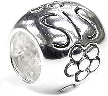Queenberry broche de plata de ley hermana cuentas de flores para Chamilia Pandora Troll para pulsera pulseras de seguridad europeo Story Baigi