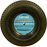 """Marathon Industries 00210 Universal Fit Flat Free Hand Truck/Utility Tire, 4.10/3.50-4"""" Tire, 2.25"""" Offset Hub, 5/8"""" Ball Bearing with Spacer/Bushing Kit Included"""