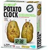FreshGadgetz Great Gizmos Kidz Labs - Green Science Potato Clock