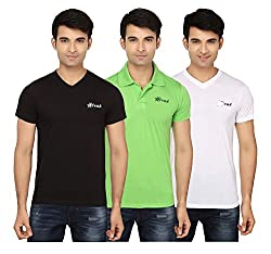 Strak Cotton Men's Casual T-Shirt (STR2023_XL)