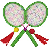 Aoneky Hot Outdoor Badminton Racket Toys Set For Kids, Recommended For Children Above 3 Years Old, Best Gifts...