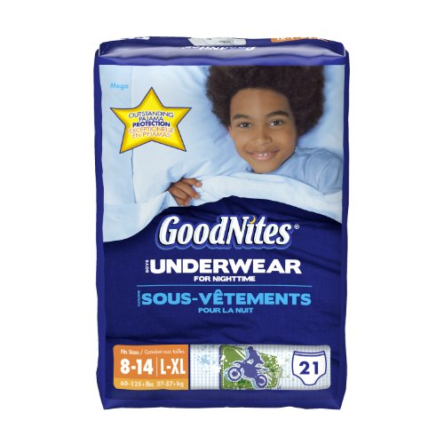 GoodNites Underwear, Boys, Large/Extra-Large, 21 Count - 1