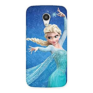 Enticing Angel And Cutness Back Case Cover for Moto G 2nd Gen
