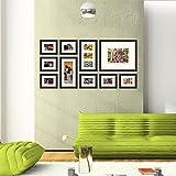 "Photo Wall Gallery 15.5"" X 6"", 10"" X 14"" & 4""X 6"" - B00VHN6FD0"