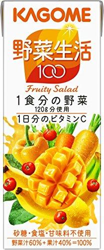 カゴメ 野菜生活100 フルーティーサラダ 200ml×24本