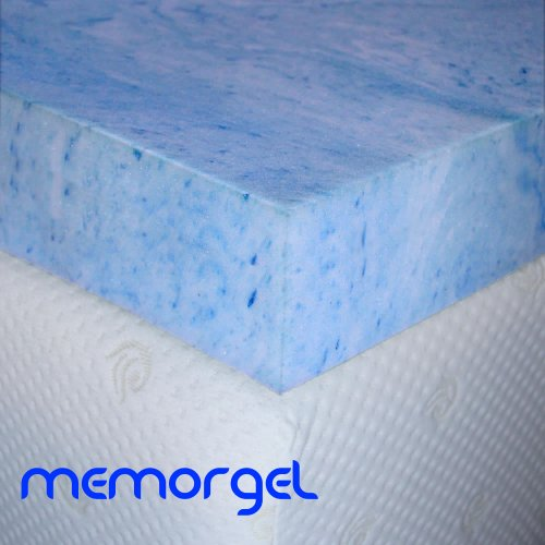 Reviews MemorGel 4 inch King Size Cooling Gel Foam