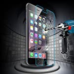 IVSO オリジナルiphone 6 Plus(5.5インチだけ適用) 専用 0.2mm 9H 強化ガラス・耐指紋、撥油性 高透過率液晶保護フィルム 反射低減タイプ 光沢表面仕様 画面保護&指紋防止シート (1枚)