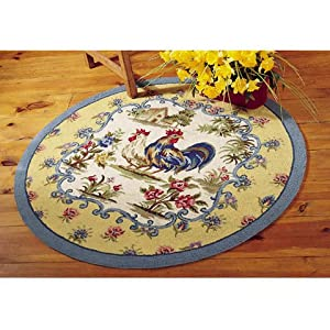 Shopzilla - French Country Rooster Rugs Rugs shopping - Home