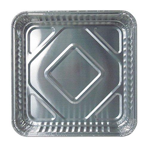 Durable Packaging 1155-35 Disposable Aluminum Square Cake Pan, 8