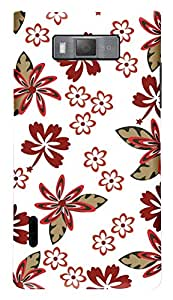TrilMil Printed Designer Mobile Case Back Cover For LG Optimus L7 P705