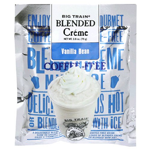 Big Train Blended Crème, Vanilla Bean, 2.8-Ounce Bags (Pack of 25)
