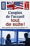 echange, troc Michel Marcheteau - Coffret L'anglais de l'accueil tout de suite ! (1CD audio)
