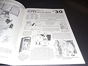 Super Sex To Sexty #30 1973 Treasury Size Adult Humor SRI Pub