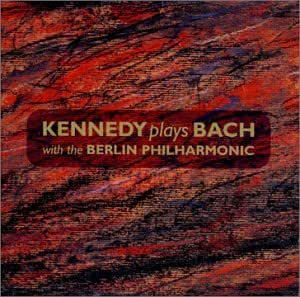 Plays Bach With the Berlin Philharmonic