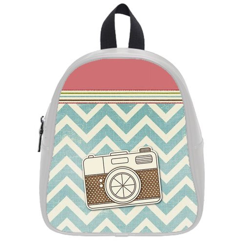 Fashion High-Grade Pu Leather Camera School Book Travel Bag Backpack Daypack For Boys Girls Small