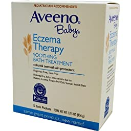 Aveeno Soothing Baby Bath Treatment, Single Use Packets - 5 ea (Pack of 2)