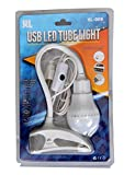 USB LED Clip Bulb Light Table Lamp for Laptop, Reading, Camping Torch