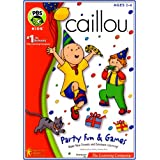 Caillou Party Fun   Games Windows Macintosh