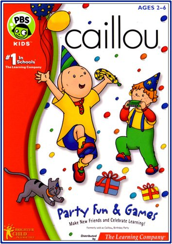 LEARNING COMPANY Caillou Party Fun & Games ( Windows Macintosh )