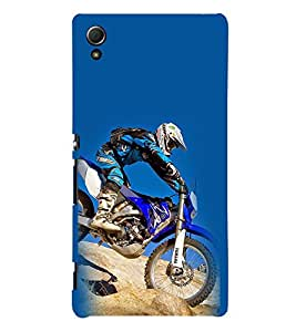 Hill Climb Race 3D Hard Polycarbonate Designer Back Case Cover for Sony Xperia Z4