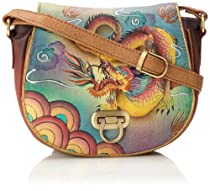 Anuschka 511 Cross Body,Imperial Dragon,One Size