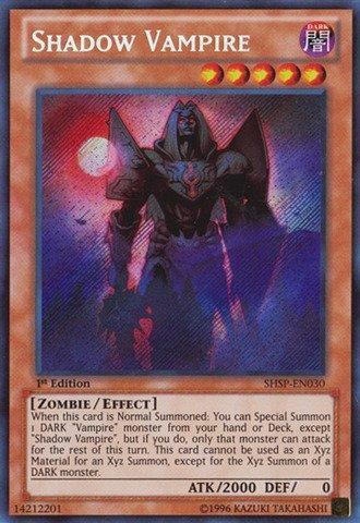 Yu-Gi-Oh! - Shadow Vampire (SHSP-EN030) - Shadow Specters - 1st Edition - Secret Rare