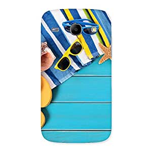Cool Beach Design Back Case Cover for Galaxy Core