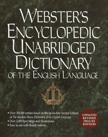 Webster's Encyclopedic Unabridged Dictionary of the English Language, Rh Value Publishing
