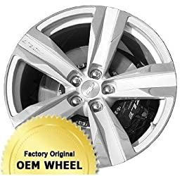 CHEVROLET CAMARO 20×11 5 SPOKE Factory Oem Wheel Rim- POLISHED BLACK – Remanufactured