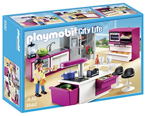 PLAYMOBIL Modern Designer Kitchen Set (Play Toaster Oven compare prices)