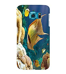 printtech Fish Coral Seawater Back Case Cover for Samsung Galaxy S6::Samsung Galaxy S6 G920