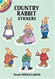 img - for Country Rabbit Stickers (Dover Little Activity Books) book / textbook / text book
