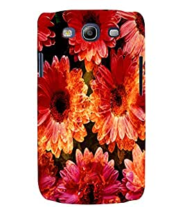Fuson 3D Printed Flower Designer back case cover for Samsung Galaxy S3 Neo - D4481
